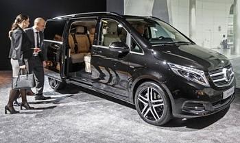 Taxi Mercedes Classe V Les Menuires - Val Thorens -Salins les Thermes